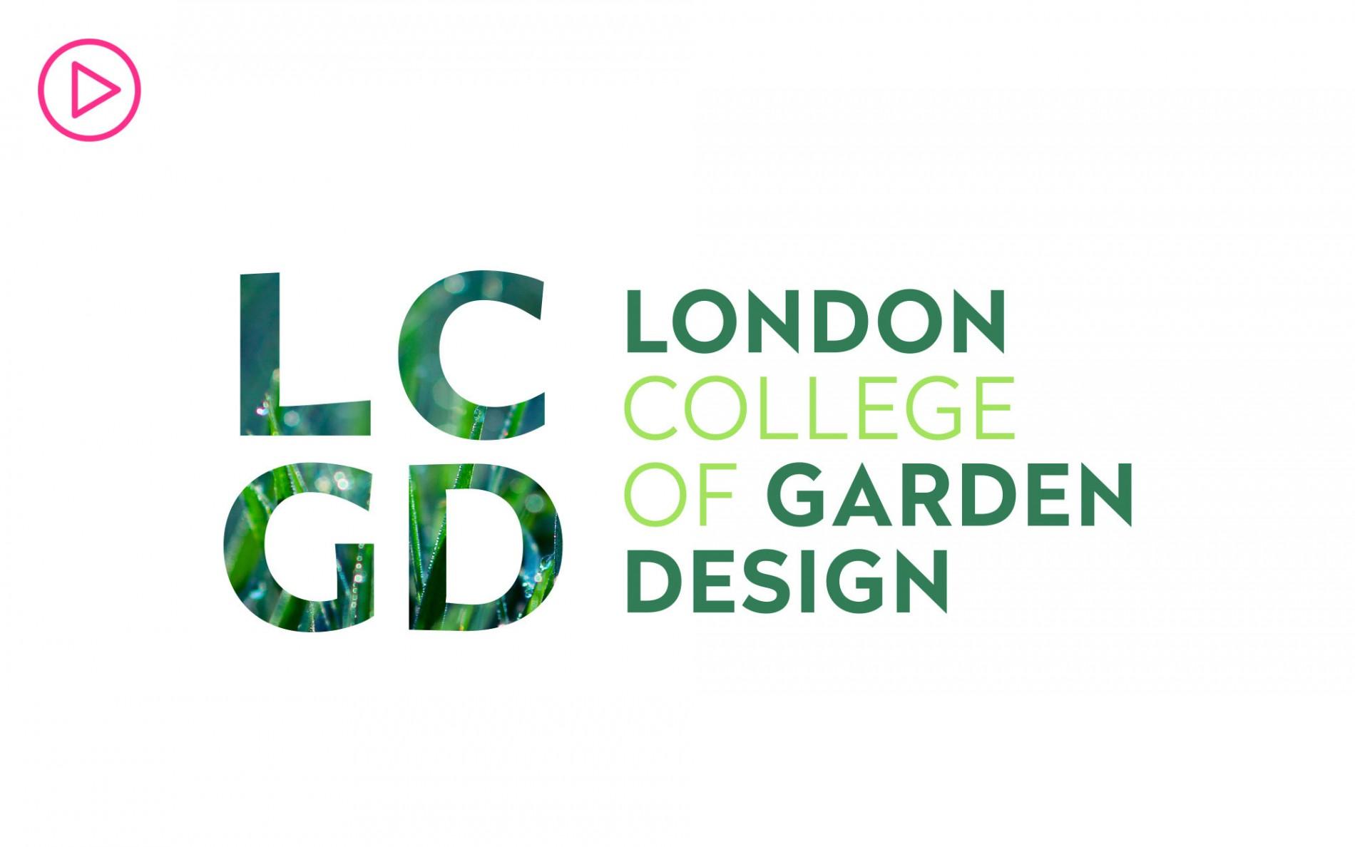 rebranding of the london college of garden design